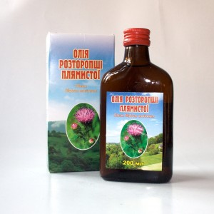 Milk thistle oil 100%, 200ml